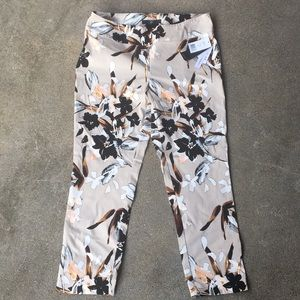 Up! Floral Cropped Pant 16 Made in Canada